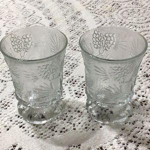 5 for $15! Glass Votive Holders